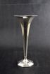 Signed Tiffany Vase Sterling Silver Trumpet Shape