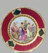 Royal Vienna Cabinet Plate Cupid