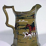 SALE Buffalo Pottery Pitcher Deldare Ware