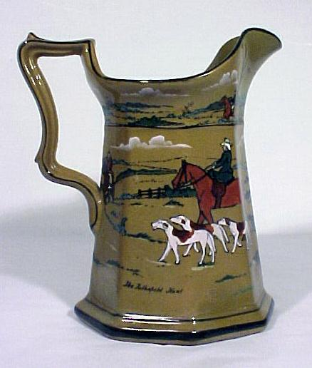 Buffalo Pottery Pitcher Deldare Ware