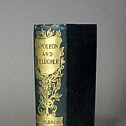 Napoleon and Bulcher Book Gold Embossing