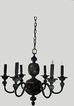 Bronze Chandelier Early American  Style