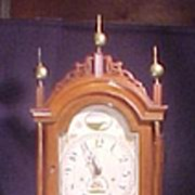 Hoadley Tall Case Clock Wooden Works
