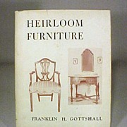 Furinture Book Heirloom Furniture Reference Book