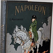 Napoleon Book Large Folio Fine Art Binding