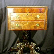 19th Century Classical Carved Mahogany Desk Work Stand