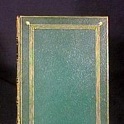 Antique Book Rubaiyat of Omar Khayyam Leather Bound