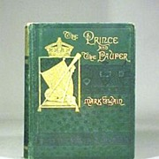 Mark Twain 1881 Book  Prince and the Pauper