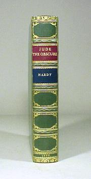 Antique Leather Gilt Book Jude The Obscure  by T. Hardy