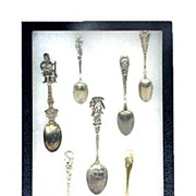 7 Piece Souvenir Spoon Collection