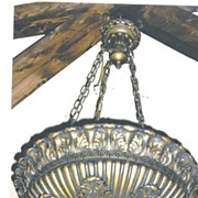 Chandelier Large Bowl ,Classical Design,Lights Shine Up