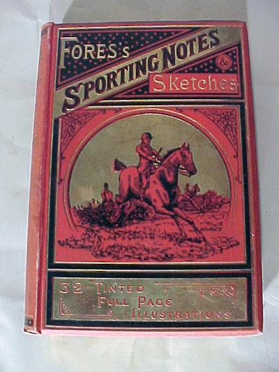 Fores Sporting Notes Sketches 1892