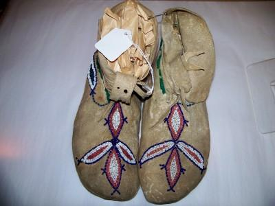 Beaded Moccasins Native American Indian Sioux