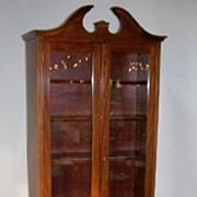 Dental Cabinet Mahogany Tall & Narrow ,would Make a Great Curio Cabinet