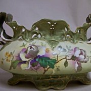 Vienna Turn Hand Painted Porcelain Centerpiece