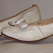 Victorian  Wedding Shoes Soft Leather
