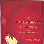 Rats Book Prints Von Hameln 1883 Full Page Loose Prints to Frame