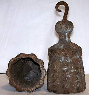 Antique Iron  Weights 18th Century