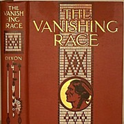 Book The Vanishing Race Picture History of Indian Chief's & Life 1925