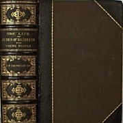 Life of Jesus Leatherbound Elegant 1880