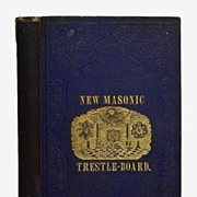 New Masonic Trestle board 1856