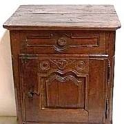 18th Century Oak French Chamber Stand