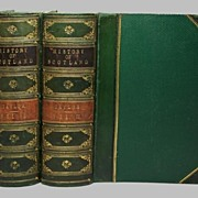 History Of Scottland 2 volumes 1859
