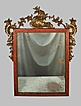 Rococo Mirror 18th Century Gold Gilt & Paint