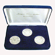 Morgan Silver Dollars Boxed Set