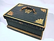 Country Box Trunk Original Paint Decorated