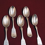 Sterling Silver Tea Spoons