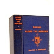 SALE Drums Along The Mohawk 1936 Signed 1st Edition