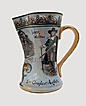 Pottery Pitcher &quot;The Complete Angler&quot; By Royal Doulton