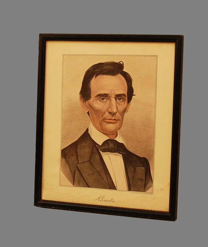 Abraham Lincoln Print Currier & Ives