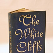 SALE Signed by Author The White Cliffs :Dover England