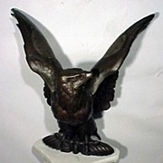 19th Century Bronze Eagle Sculpture