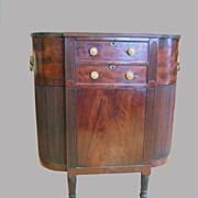 Mahogany Sewing Stand Philadelphia Early 1800's