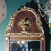 18th Century Queen Ann Continental Mirror