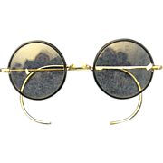 Bausch & Lomb Artshel Aristocrat Spectacles/Eyeglasses 1920's