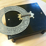 Ariosa Organette Music Box with 20 rings.