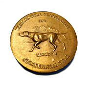 SALE Westminster Kennel Club 100th Anniversary Medal