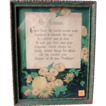 Son to Mother Framed Mother Motto   Hand Signed