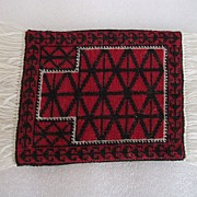 Doll House Rug Baluchi Salesman�s Sample Prayer Wool Rug 1989