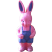 1950s Hard Plastic Irwin Easter Bunny Rabbit - Rattle