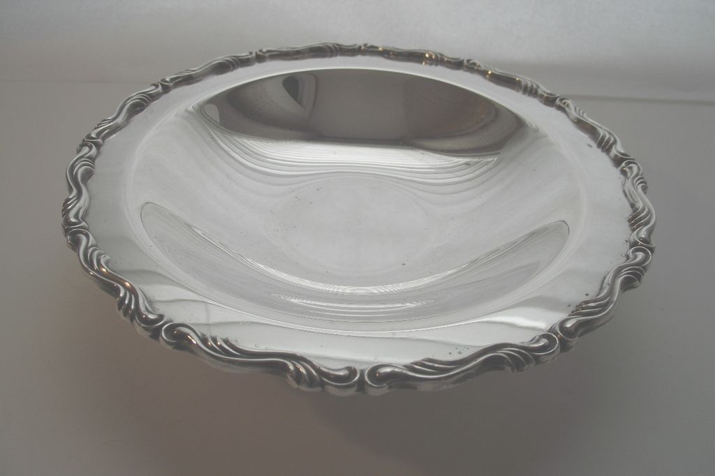 Small Silver Plate Candy Dish by William Rogers