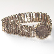 Expandable Signet Style Bracelet Circa 1904