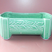 McCoy Planter     1920s Green