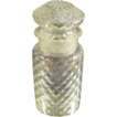 Drug Store Pharmacy Blown Patterned Glass Jar