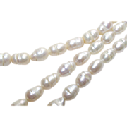 Baroque Freshwater Potato Pearl Necklace 18 Long