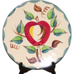 Purinton Apple  Pattern Charger-Chop Plate